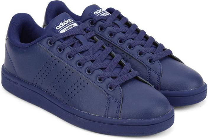 designer fashion cb176 6d4b4 ADIDAS NEO CLOUDFOAM ADVANTAGE CLEAN W Sneakers For Women (Navy)