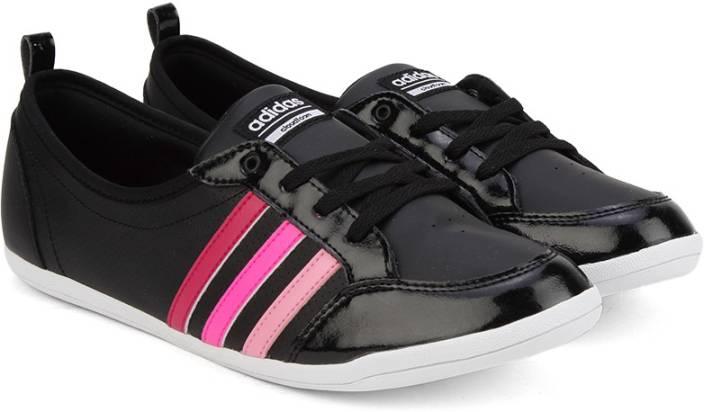 ADIDAS NEO CLOUDFOAM PIONA W Sneakers For Women - Buy CBLACK BOPINK ... 9d9cac17c0