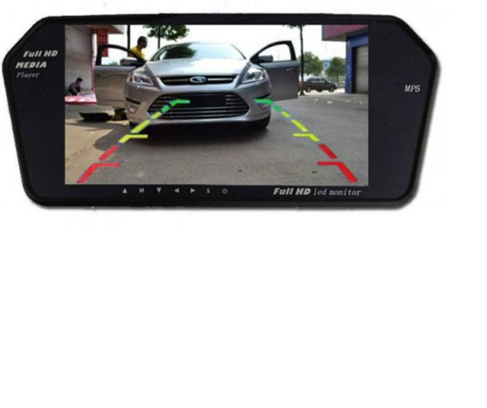 Shrih 7 Inch Car Full Hd Reverse Parking Screen With Bluetooth