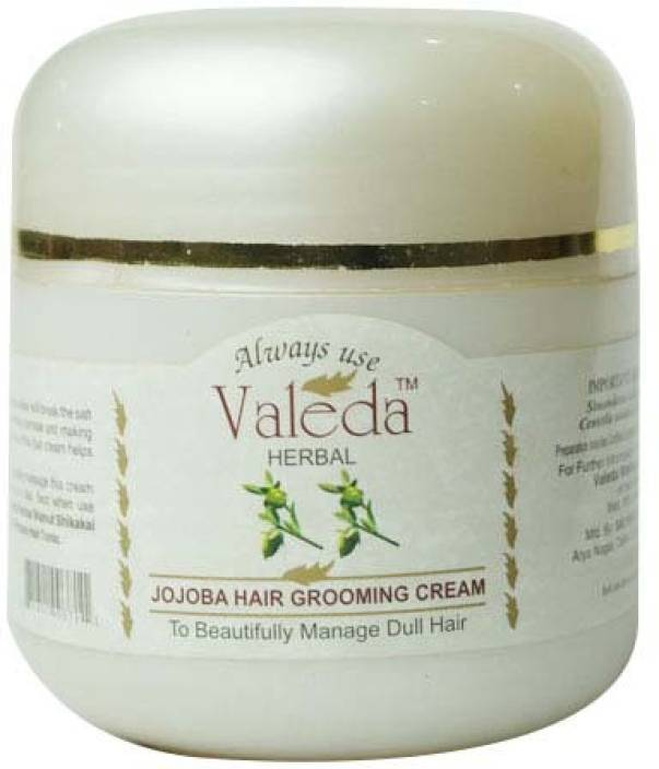 Valeda Herbal Jojoba Hair Grooming Cream - Clinical Conditioner to Hydrate and Nourish Hairs