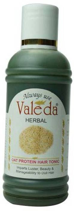 Valeda Herbal Oat Protein Hair Tonic - Balanced Herbal Recipe for 'SPLIT ENDS' - Made by Doctors since 1988