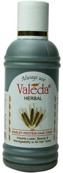 Valeda Herbal Barley Protein Hair Tonic - 'Herbal Protein Tonic' to Control Hairfall - Clinically Proved since 1988