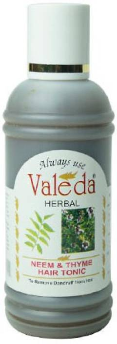 Valeda Herbal Neem and Thyme Hair Tonic - Miracle Clinical Product to Control 'DANDRUFF' - Since 1988