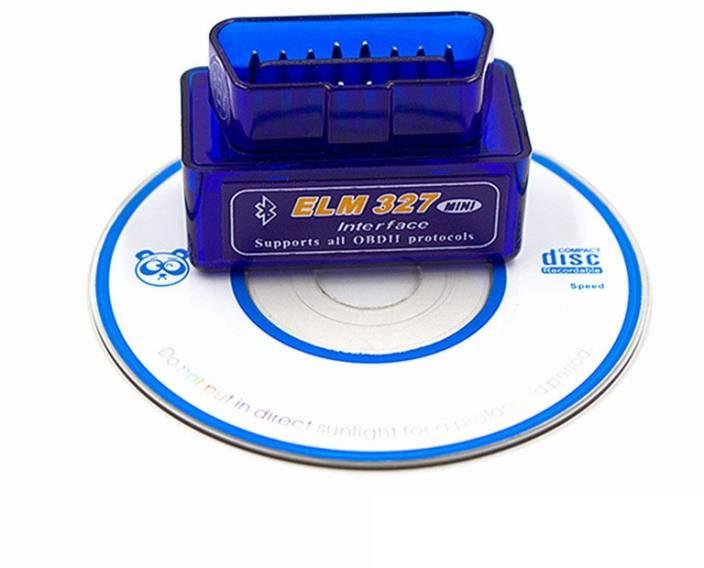 Gadget Guru Super Mini ELM327 Bluetooth OBD II Scanner OBD Reader