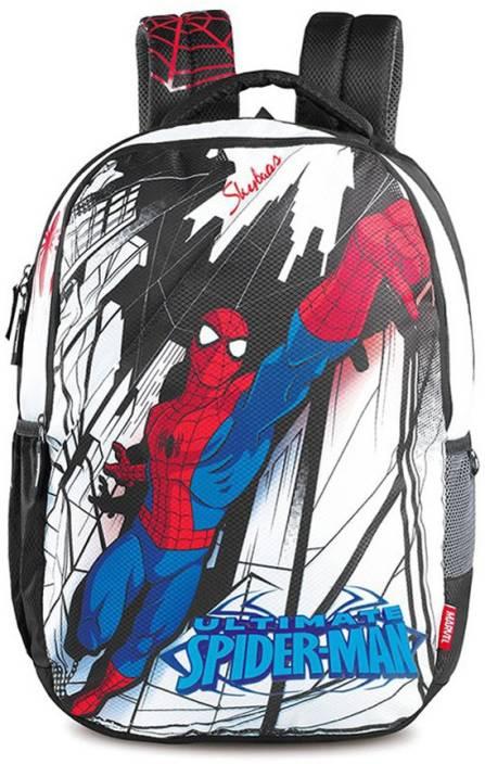 Skybags Spiderman School Bag (Multicolor