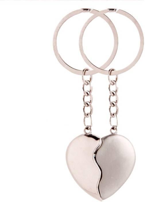 Keepsake Silver Broken Heart Keychain Key Chain - Buy Keepsake ...