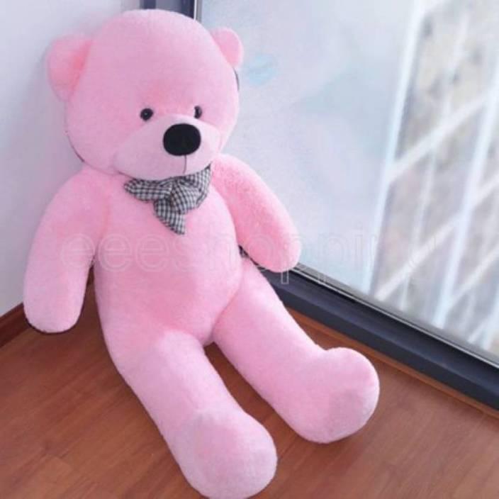 AV Toys 5 Feet Teddy Bear 152 cm (Pink)  - 152 cm