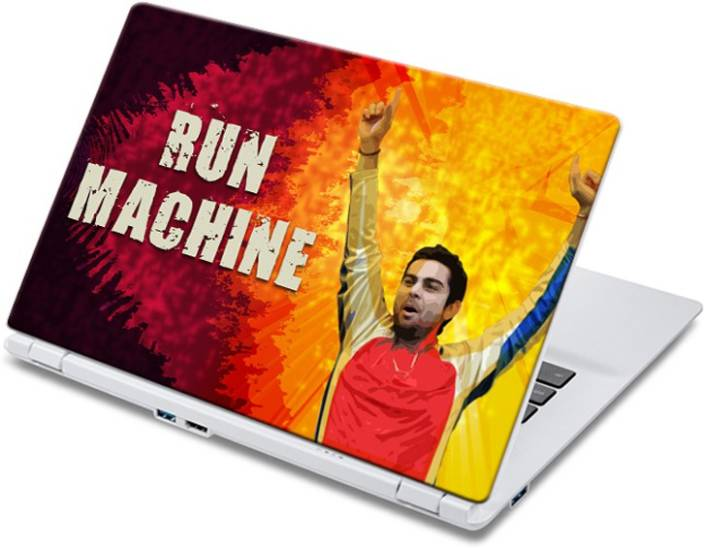 ezyPRNT Joyful Run Machine (14 to 14.9 inch) Vinyl Laptop Decal 14