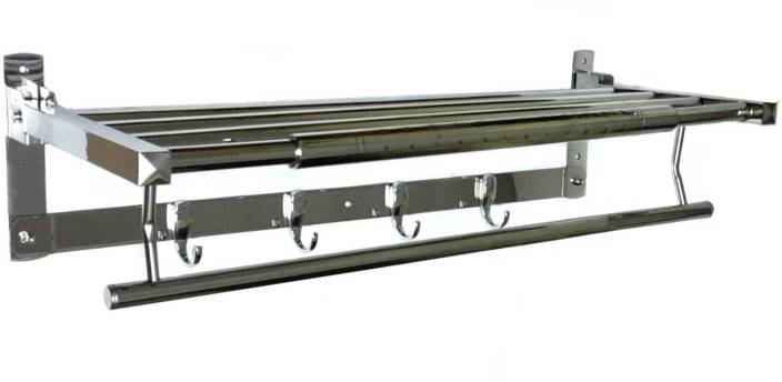 Aai Classic Folding Towel Rack 24 Stainless Steel Wall Shelf Price