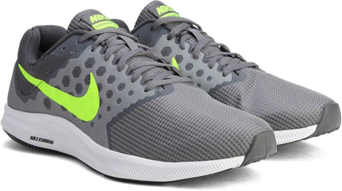 Nike DOWNSHIFTER 7 Running Shoes For Men - Buy COOL GREY   VOLT ... 496df8f8da3
