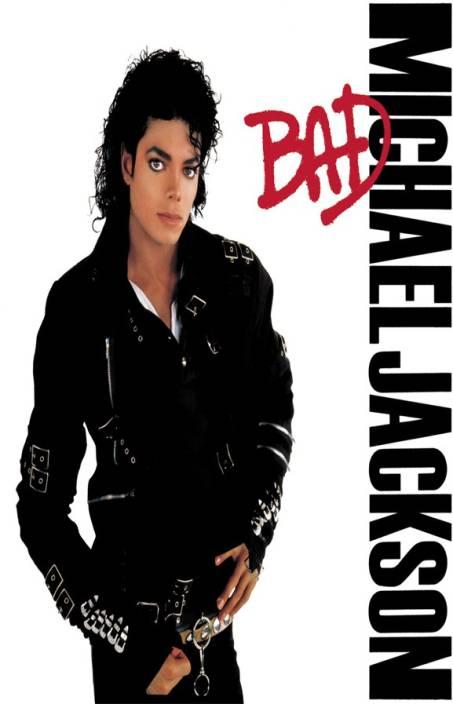 f833fede michael jackson bad Paper Print - Music posters in India - Buy art ...