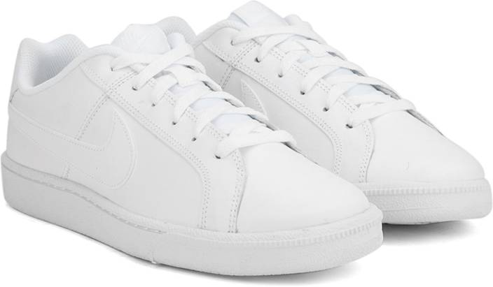 Nike COURT ROYALE Sneakers For Men - Buy WHITE WHITE BLANC BLANC ... b5aa4c9f74c2c