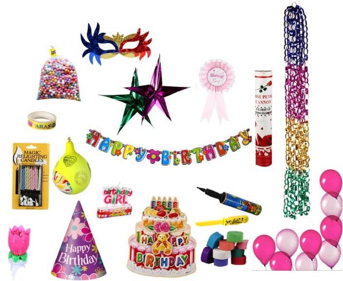 NHR Birthday Decoration Kit For Girl