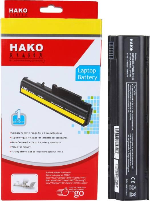 50751191364 Hako Compaq Presario c500 6 Cell Laptop Battery - Hako   Flipkart.com