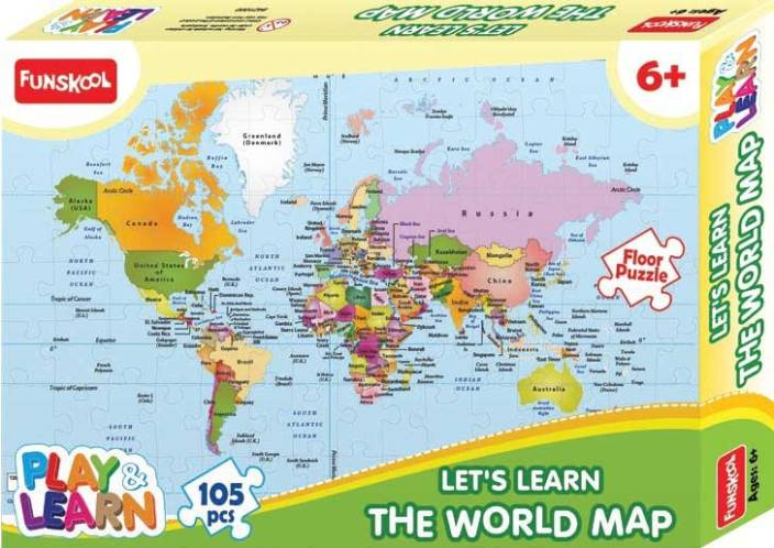 Kidoz kingdom funskool world map puzzle board game funskool kidoz kingdom funskool world map puzzle board game gumiabroncs Images