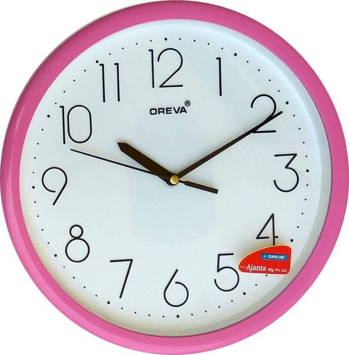AJANTA OREVA Analog 25 cm X 25 cm Wall Clock Price in India - Buy