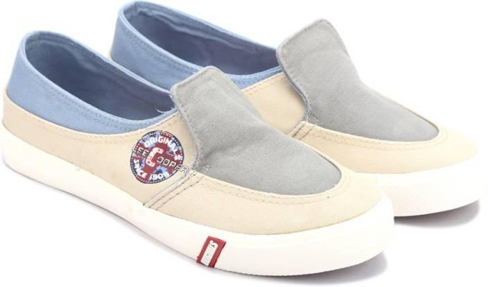Lee Cooper Canvas Loafers For Men