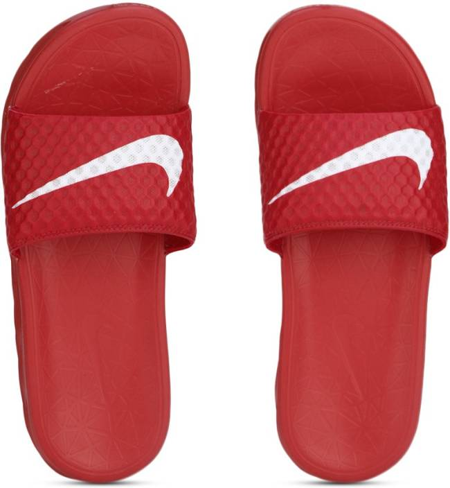 213b9844eb9 Nike BENASSI SOLARSOFT TB Slides - Buy UNIVERSITY RED WHITE Color Nike  BENASSI SOLARSOFT TB Slides Online at Best Price - Shop Online for  Footwears in India ...