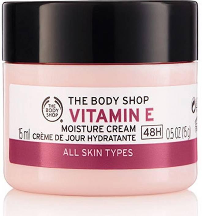 body shop e vitamin moisture cream