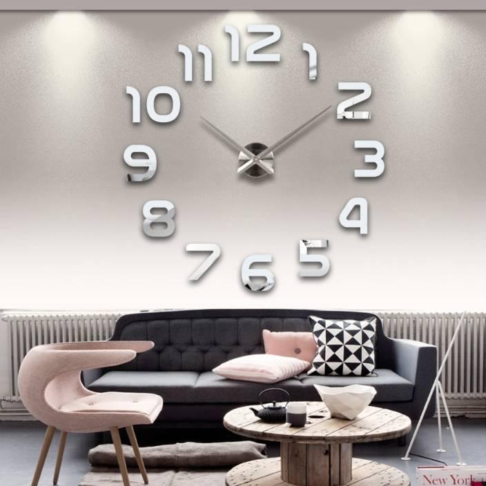unique gadget analog 62 cm x 4 cm wall clock price in india - buy
