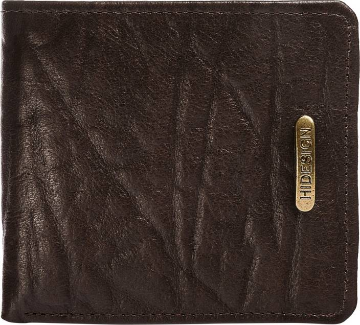 Hidesign Men Brown Genuine Leather Wallet
