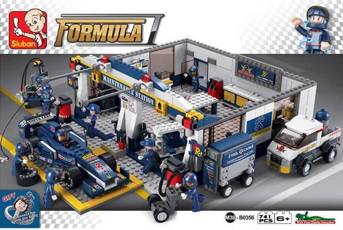 Sluban Lego F1 Garage