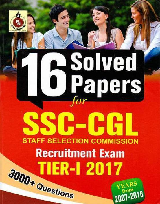 SSC Combined Graduate Level Tier-1 16 Solved Papers