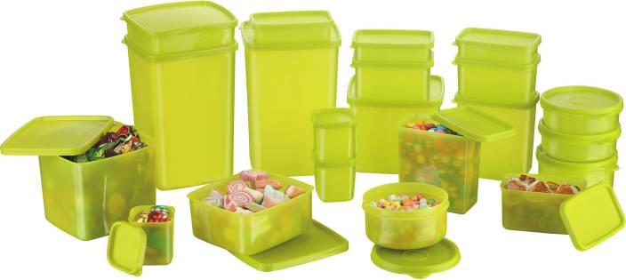MasterCook  - 2000 ml, 1200 ml, 600 ml, 400 ml, 200 ml, 300 ml, 100 ml, 500 ml, 250 ml, 100 ml Polypropylene Multi-purpose Storage Container