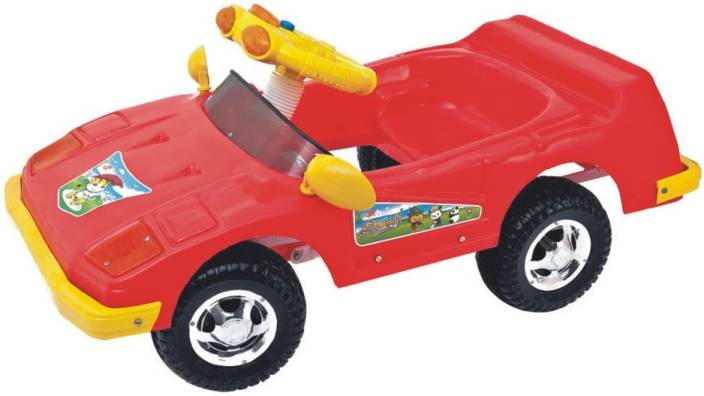 ehomekart red sports push and pedal car for kids