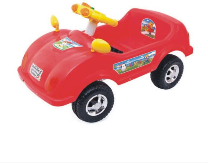 ehomekart red civic push and pedal car for kids