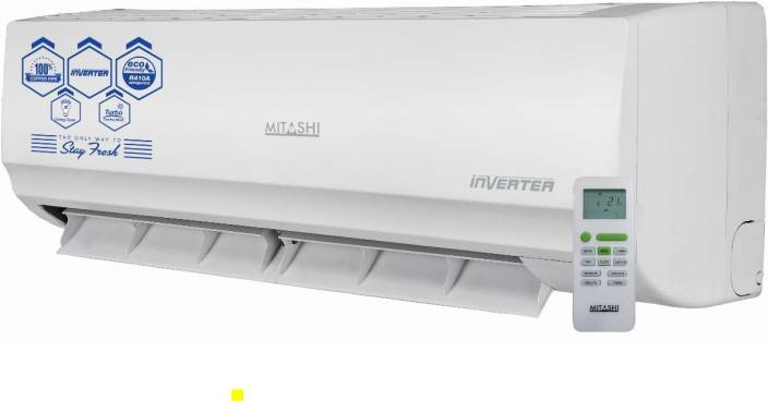 buy mitashi 1 ton inverter split ac white online at best prices in india. Black Bedroom Furniture Sets. Home Design Ideas
