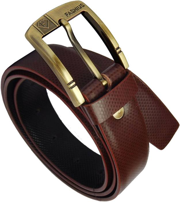 80515e12675c9 Fashius Men Brown Artificial Leather Belt Black-01 - Price in India |  Flipkart.com