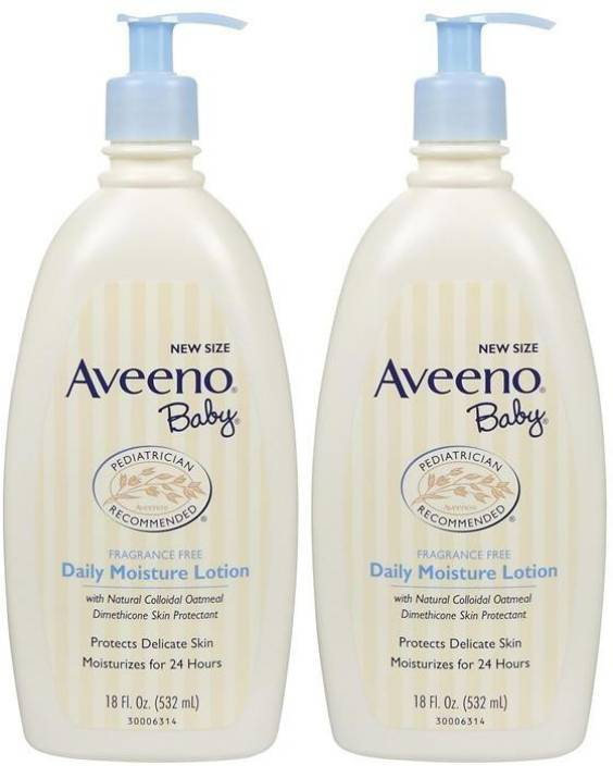 Aveeno Daily Moisture Lotion - 532ml (18oz) (Pack of 2)