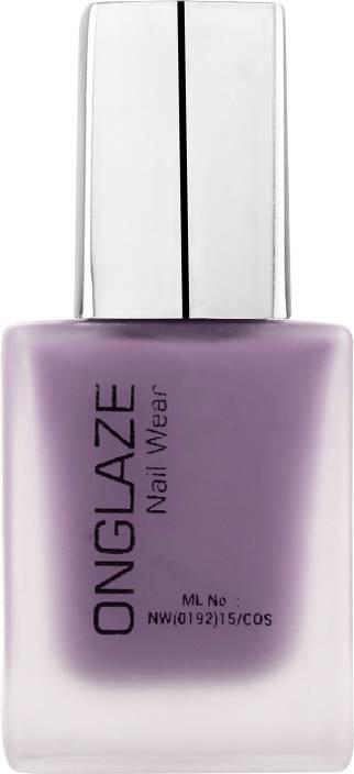 ONGLAZE Nail Polish LILAC MAUVE MATTE - Price in India, Buy ONGLAZE ...