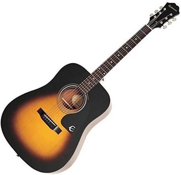 Epiphone DR-100 SUNBURST Mahogany Acoustic Guitar