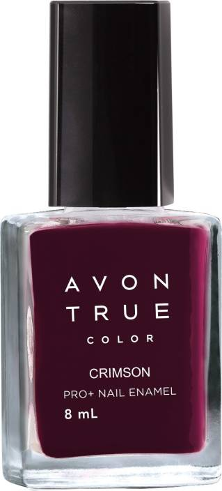 Avon True Color Pro+ Nail Enamel Crimson