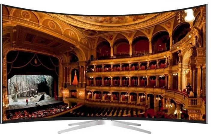 Vu 163cm (65 inch) Ultra HD (4K) Curved LED Smart TV