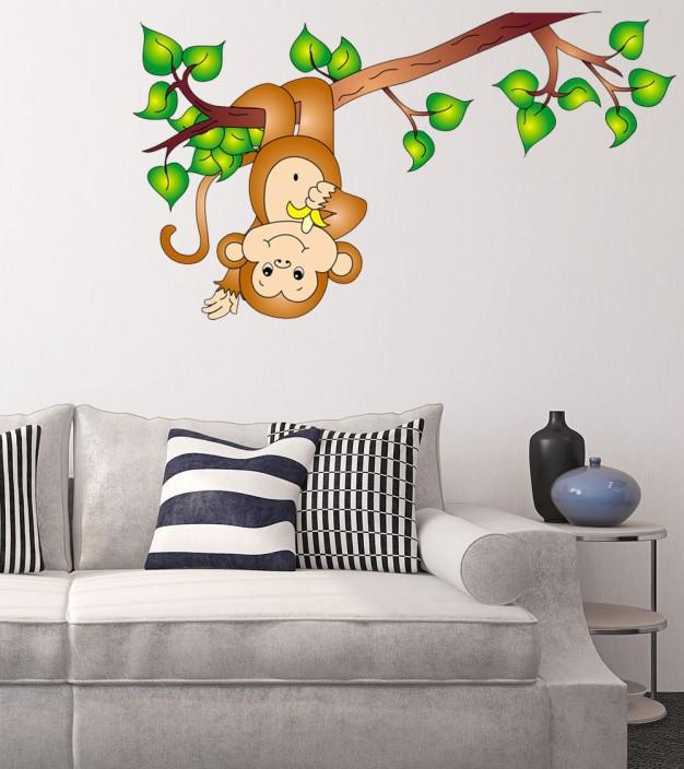 New Way Decals Wall Sticker Animals Wallpaper