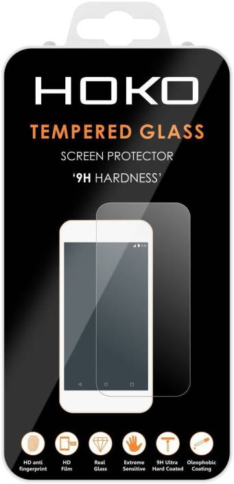Hoko Tempered Glass Guard for Sony Xperia XZ Premium (Pack of 1)