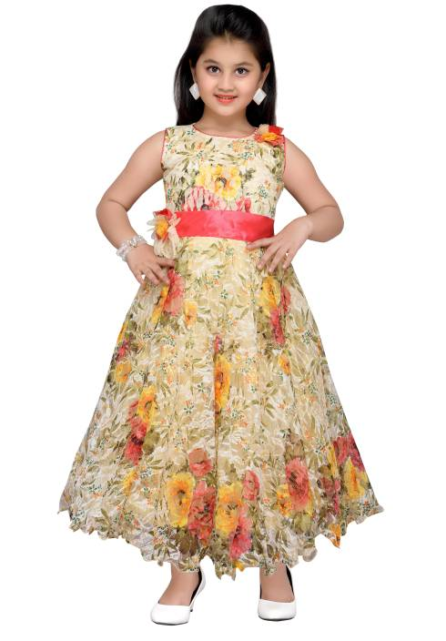 9bd314d6a36 Adiva Girls Maxi Full Length Party Dress Price in India - Buy Adiva ...