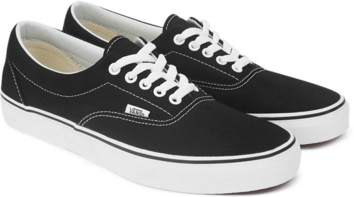 9deb9dddf2 Vans ERA Sneakers For Men - Buy BLACK Color Vans ERA Sneakers For ...