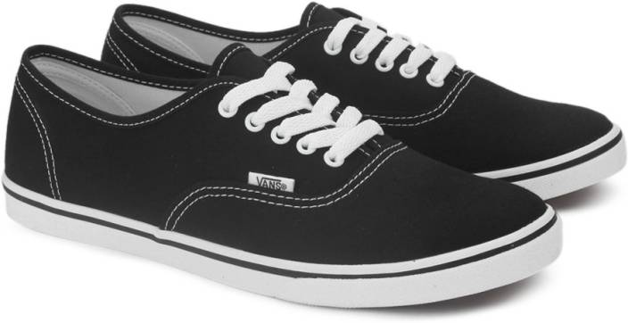 d7432efe83b1 Vans AUTHENTIC LO PRO Sneakers For Men - Buy BLACK TRUE WHITE Color ...