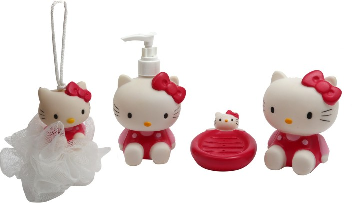 Wishkey Hello Kitty character bathroom set for kids Bath Toy