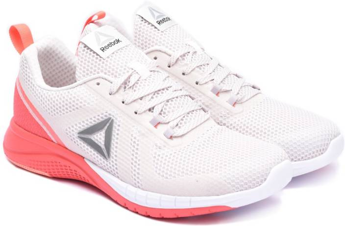 REEBOK PRINT RUN 2.0 Running Shoes For Women - Buy ASH GREY CORAL ... 9b09d5afb