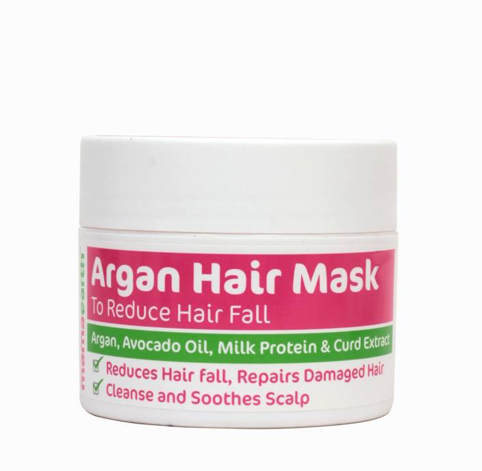 Mamaearth Argan Hair Mask to reduce hairfall and strenghten
