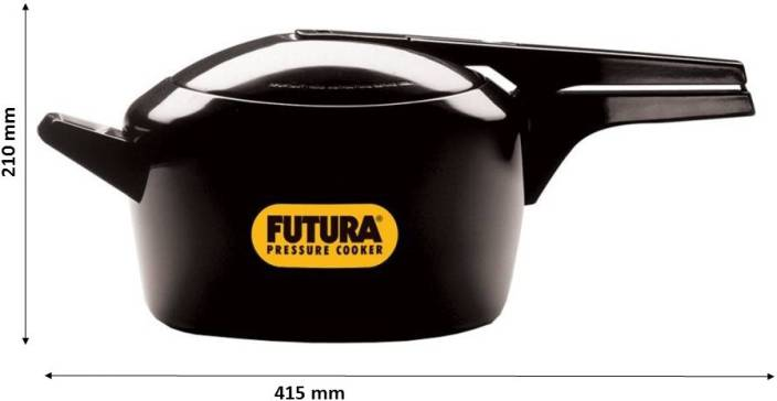 Hawkins Futura 5 L Pressure Cooker with Induction Bottom