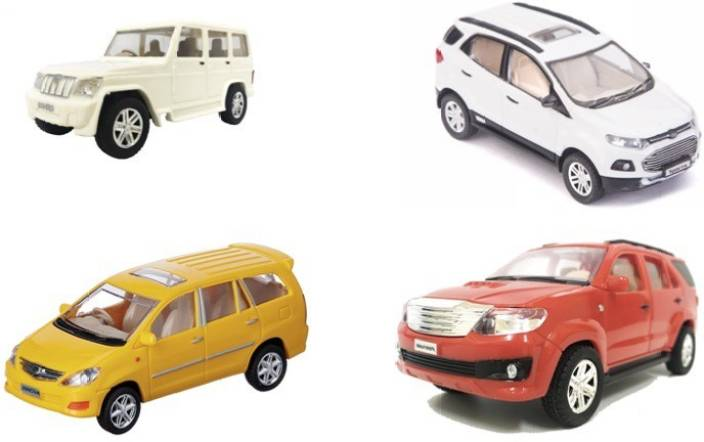 Rma Centy Toys Suv Car Series Bolera Ecosport Fortuner And