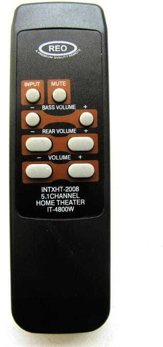home theater remote control. reo intex it-4800w home theater remote controller home theater control
