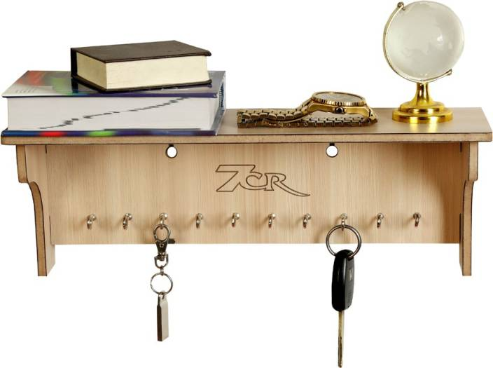 7CR Wooden Key Holder