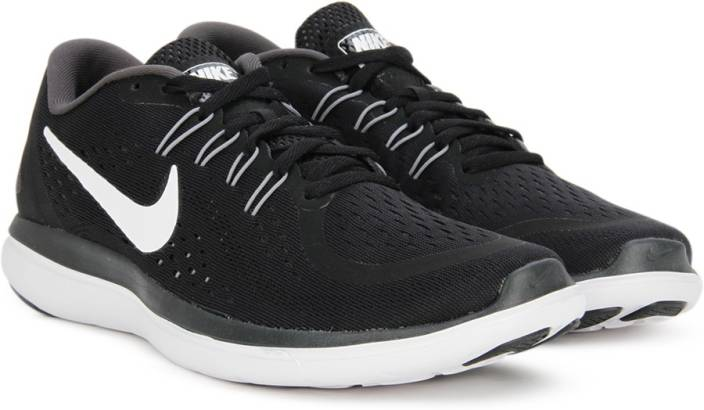 Nike FLEX 2017 RN Running Shoes For Men - Buy BLACK WHITE-ANTHRACITE ... bd265a8d8